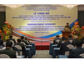 Bộ Quốc phòng công bố Quyết định thành lập Văn phòng 701