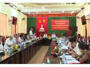 """Thượng tướng Nguyễn Văn Rinh, Chủ tịch Hội Nạn nhân chất độc da cam/dioxin Việt Nam: """"Tiếp tục thực hiện tốt công tác giải quyết chế độ chính sách cho đối tượng nhiễm chất độc da cam/dioxin."""