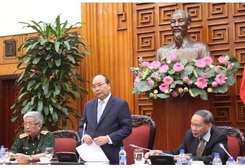 Thủ tướng Nguyễn Xuân Phúc tiếp Trung ương Hội Nạn nhân chất độc da cam/dioxin Việt Nam
