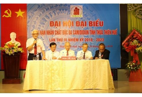 Đại Hội Hội Nạn nhân chất độc da cam tỉnh Thừa Thiên-Huế