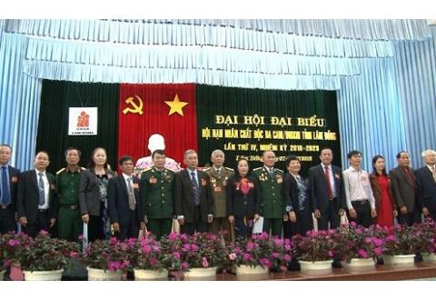 Đại hội Hội Nạn nhân chất độc da cam/dioxin tỉnh Lâm Đồng