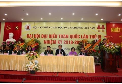 Đại hội Đại biểu toàn quốc lần thứ IV Hội Nạn nhân chất độc da cam/dioxin Việt Nam