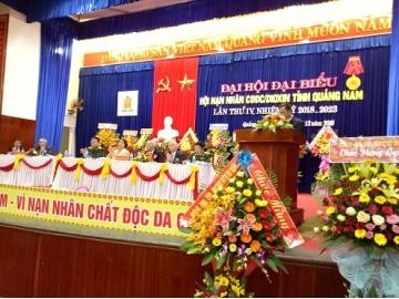 Đại hội đại biểu Hội Nạn nhân chất độc da cam/dioxin tỉnh Quảng Nam lần thứ IV: