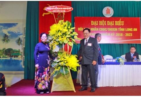 Đại hội Hội Nạn nhân chất độc da cam/dioxin tỉnh Long An lần thứ IV: