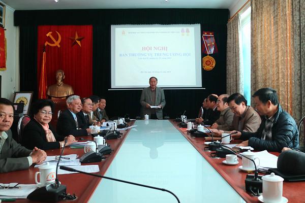 Hội nghị Ban Thường vụ Trung ương Hội lần thứ 2, nhiệm kỳ IV, năm 2019