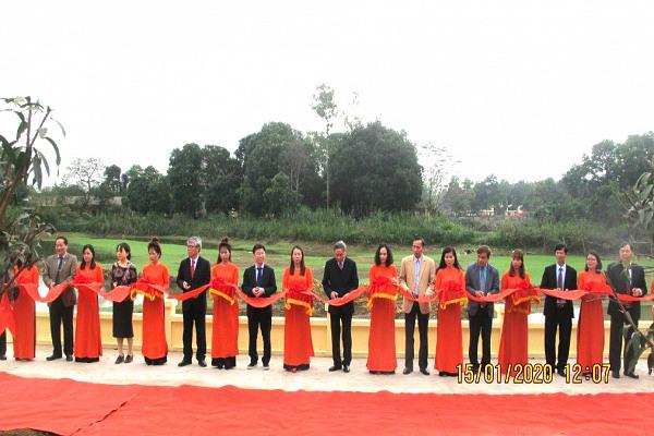 Khánh thành dự án sửa chữa, nâng cấp một số công trình tại trung tâm BTXH NNCĐDC/dioxin Việt Nam