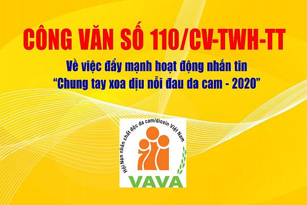 Công văn 110/CV-TWH-TT về việc đẩy mạnh hoạt động nhắn tin