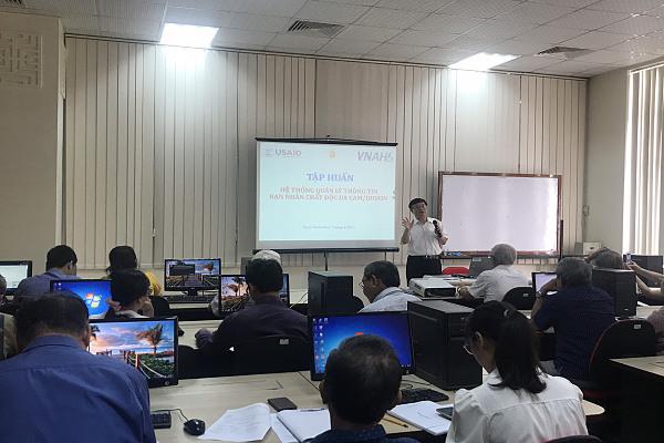 Tổ chức lớp tập huấn quản lý NNCĐDC cho Hội thành phố Huế