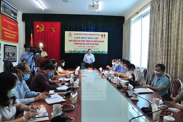 Hội NNCĐDC/dioxin Việt Nam: Tổ chức gặp mặt báo chí giới thiệu các hoạt động kỷ niệm 60 năm Thảm họa da cam ở Việt Nam (10/8/1961 – 10/8/2021)