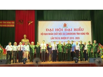 Đại hội Đại biểu Hội Nạn nhân chất độc da cam/dioxin tỉnh Hưng Yên lần thứ III