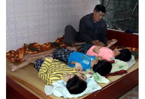 Điều trị giải độc cho người bị phơi nhiễm chất dioxin