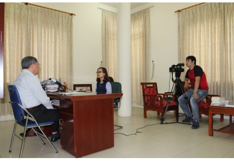 Senior Lieutenant General Rinh's interviewed by VNA Television on trials against US chemical companies