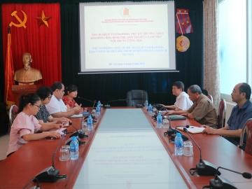 Thư ký Thường trực Hội đồng Hòa bình thế giới thăm và làm việc với Trung ương Hội