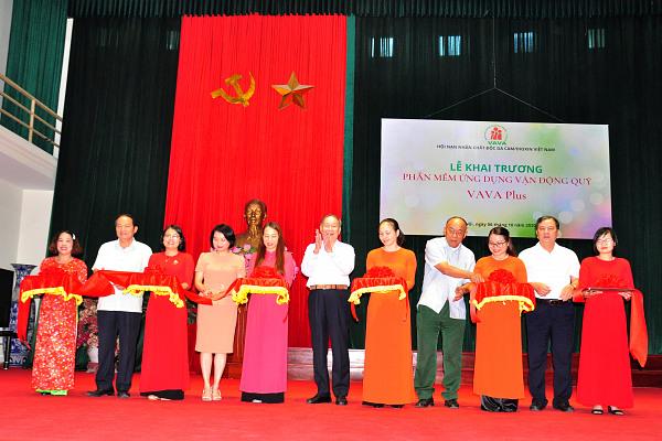 Hội NNCĐDC/dioxin Việt Nam: Khai trương phần mềm ứng dụng vận động Qũy: VAVAPLUS