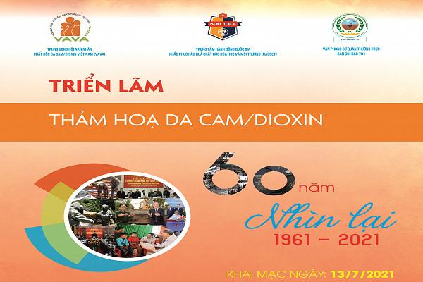 Triển lãm ảnh online Kỷ niệm 60 năm Thảm họa da cam ở Việt Nam (1961-2021)